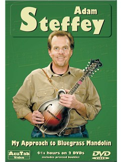 Adam Steffey - My Approach to Bluegrass Mandolin - Acutab DVDs / Videos | Mandolin