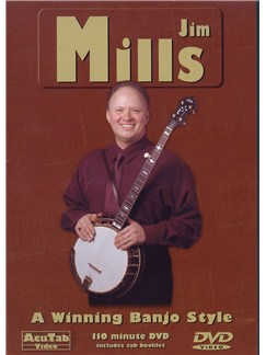 Jim Mills - A Winning Banjo Style DVDs / Videos | Banjo, Banjo Tab