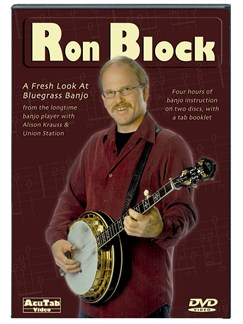 Ron Block- A Fresh Look at Bluegrass Banjo DVDs / Videos | Banjo