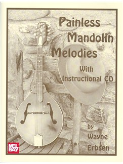 Painless Mandolin Melodies Books and CDs | Mandolin