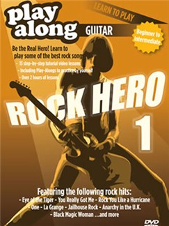 Orjan Gill: Play-Along Guitar - Learn To Play Rock Hero (DVD 1) DVDs / Videos | Guitar