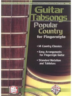 Guitar Tabsongs: Popular Country for Fingerstyle Books | Guitar, Guitar Tab