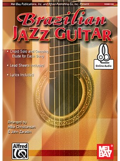 Arr. Mike Christiansen/John Zaradin: Brazilian Jazz Guitar (Book/Online Audio) Books and Digital Audio | Guitar