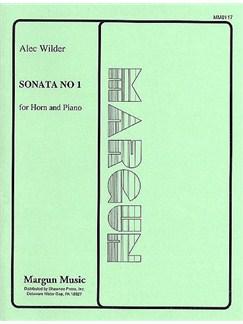 Alec Wilder: Sonata No.1 (Horn and Piano) Books | Horn, Piano Accompaniment