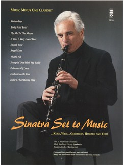 Sinatra Set To Music: Kern, Weill, Gershwin, Howard And You Books and CDs | Clarinet