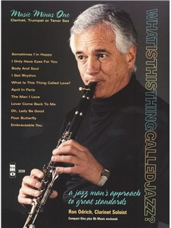 Ron Odrich Plays Standards Plus You Books and CDs | Clarinet
