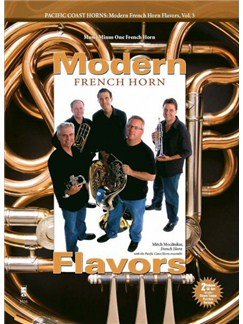 Pacific Coast Horns: Modern French Horn Flavors - Volume 3 Books and CDs | French Horn