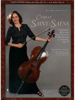 Camille Saint-Saëns: Violoncello Concerto No. 1 In A Minor - Op. 33 Books and CDs | Cello