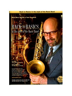 Back To Basics In The Style Of The Basie Band (Saxophone) Books and CDs | Tenor Saxophone Or Alto Saxophone