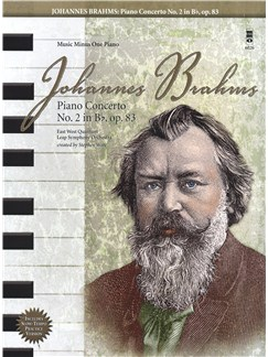 Johannes Brahms: Piano Concerto No.2 In B Flat Op.83 Books and CDs   Piano