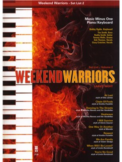 Weekend Warriors: Volume 2 - Piano/Keyboard Books and CDs | Piano, Keyboard
