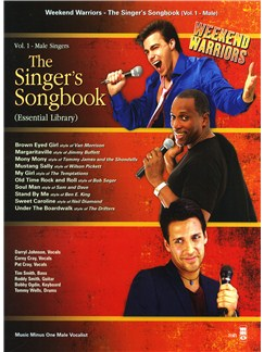 Weekend Warriors: The Singer's Songbook (Volume 1 Male Singers) Books and CDs | Low Voice