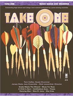 Music Minus One -Take One (Minus Drums) Books and CDs | Drums