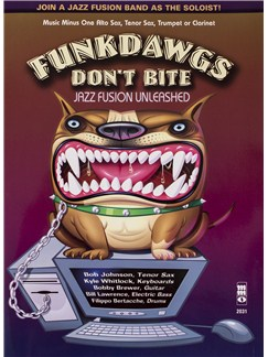 Funkdawgs Don't Bite: Jazz Fusion Unleashed - Tenor Saxophone (Book/CD) Books and CDs | Tenor Saxophone