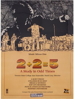 2+2=5: A Study In Odd Times (Book/2 CDs) Books and CDs | Double Bass