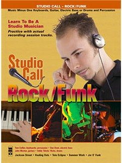 Music Minus One - 'Studio Call' Rock/Funk (Minus Piano) Books and CDs | Piano