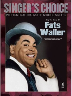 Singer's Choice: Sing The Songs Of Fats Waller (Book/CD) Books and CDs | Voice