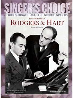 Singer's Choice: Sing The Songs Of Rodgers & Hart (Book/CD) Books and CDs | Voice