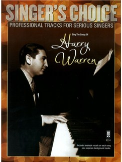 Singer's Choice: Sing The Songs Of Harry Warren (Book/CD) Books and CDs | Voice