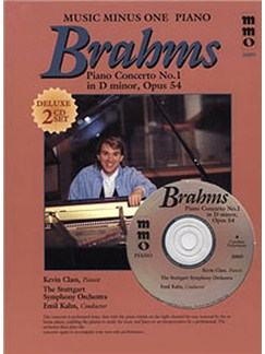 Music Minus One - Johannes Brahms: Concerto No.1 In D Minor Books and CDs | Piano