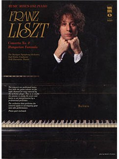 Music Minus One - Franz Liszt: Concerto No.2 In A S125; Hungarian Fantasia S123 Books and CDs | Piano