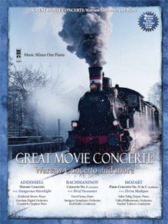 Music Minus One: Great Movie Concerti - Warsaw Concerto And More Books and CDs | Piano