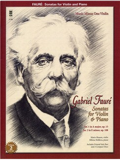 Gabriel Faure: Sonatas For Violin And Piano Books and CDs | Violin