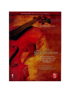Felix Mendelssohn: 'Double' Concerto For Piano, Violin And String Orchestra In D Minor Books and CDs | Violin