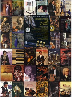 Music Minus One - Classic Pieces For Trumpet And Organ Books and CDs | Trumpet