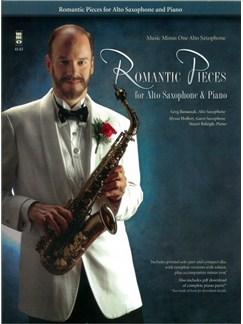 Romantic Pieces - Alto Saxophone/Piano Books and CDs | Alto Saxophone, Piano Accompaniment
