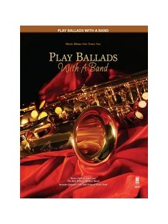 Play Ballads With A Band - Tenor Saxophone Books and CDs | Tenor Saxophone