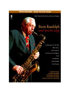 Boots Randolph: Some Favorite Songs Books and CDs | Saxophone, Alto Saxophone, Tenor Saxophone