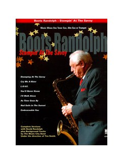 Boots Randolph: Stompin' At The Savoy Books and CDs | Tenor Saxophone, Alto Saxophone, Saxophone