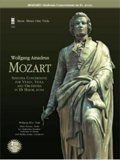 Music Minus One: W.A. Mozart - Sinfonia Concertante For Violin, Viola & Orchestra in E Flat KV364; Adagio In E; Rondo In C (Viola Version) Books and CDs | Viola