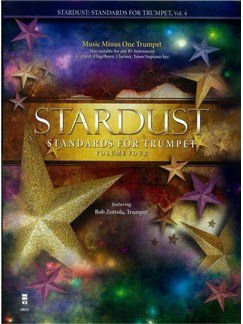 Stardust: Standards For Trumpet - Volume 4 Books and CDs | Trumpet