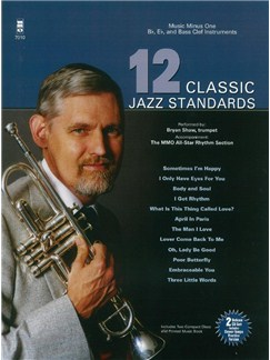12 Classic Jazz Standards (Book/2 CDs) Books and CDs | B Flat Instruments, Bass Clef Instruments, E Flat Instruments