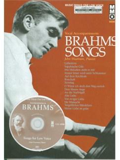 Music Minus One - Johannes Brahms: German Lieder (Low Voice) Books and CDs | Low Voice