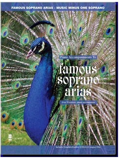 Music Minus One - Famous Soprano Arias Books and CDs | Soprano