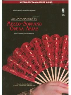 Music Minus One - Famous Mezzo-Soprano Arias Books and CDs | Mezzo-Soprano