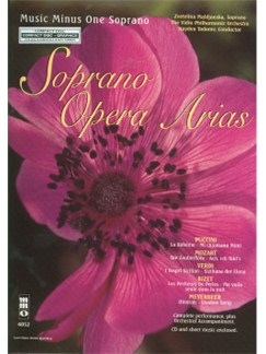 Music Minus One - Soprano Arias With Orchestra Vol.I Books and CDs | Soprano