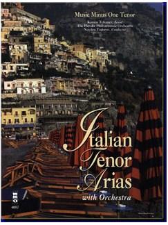 Music Minus One - Italian Tenor Arias Volume 1 Books and CDs   Tenor
