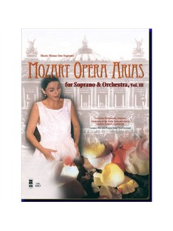 Music Minus One - W.A. Mozart: Opera Arias For Soprano And Orchestra Vol.III Books and CDs | Soprano