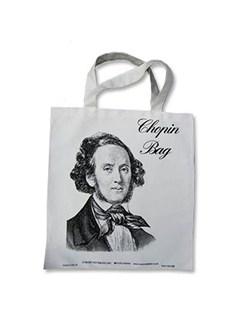 Chopin Bag - White Canvas  |