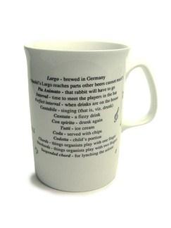 Coffee Mug Nota Bene - Largo  |