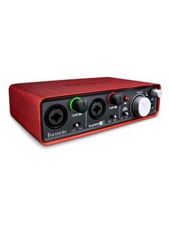 Focusrite: Scarlett 2i2 USB Recording Interface  |