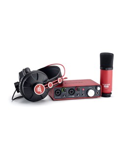 Focusrite: Scarlett Studio - Recording Package  |