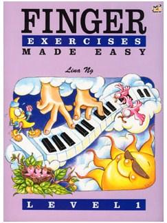 Lina Ng: Finger Exercises Made Easy - Grade 1 Books   Piano