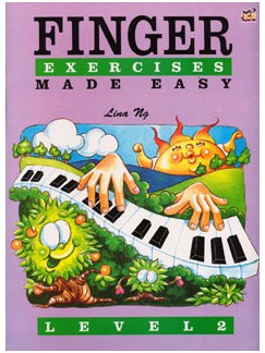 Finger Exercises Made Easy - Level 2 Books | Piano