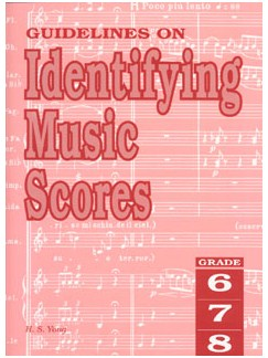 Guidelines On Identifying Music Scores Grade 6 To 8 Libro |