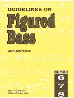 Guidelines On Figured Bass With Exercises - Grade 6-8 Books | Bass Guitar